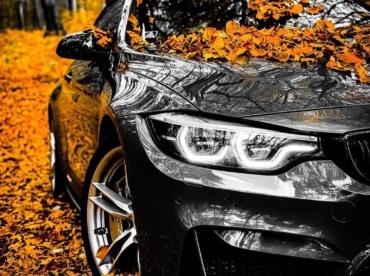Осень машина BMW F