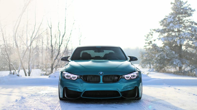 зима автомобиль